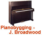 Pianobygging - J. Broadwood & sons